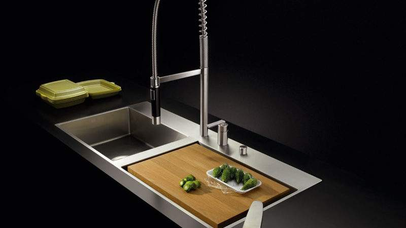 Bowl Flush Mounted Sink Water Units