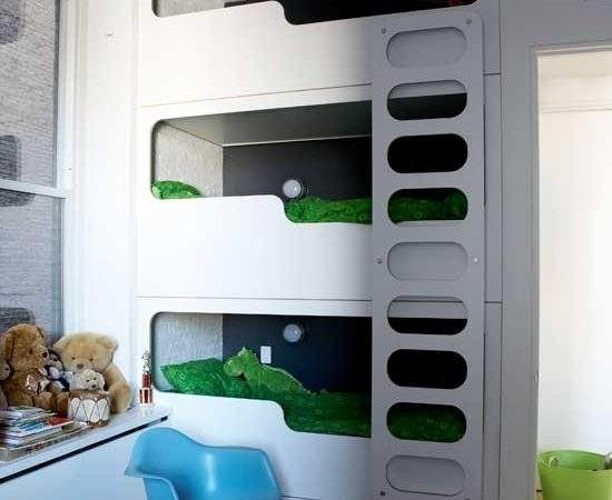 Boys Modern Bunk Beds Bedroom Ideas Decor