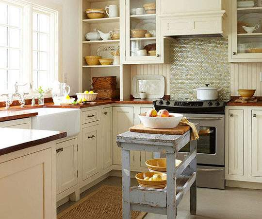 Brilliant Small Kitchen Island Interior Decoration
