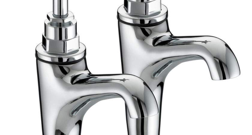 Bristan High Neck Pillar Taps Hnk
