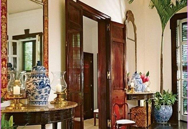 British Colonial Style Incorporates Traditional Themes