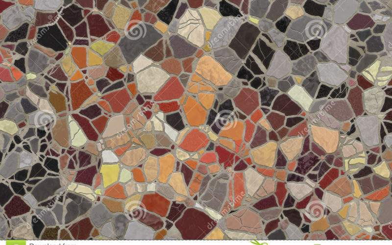 Broken Mosaic Tiles Photos