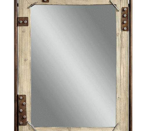 Bronze Decorative Wall Mirror Eclectic Mirrors