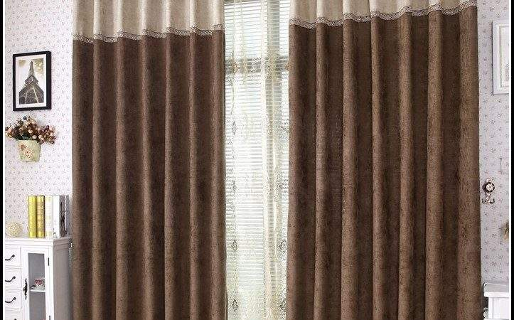 Brown Black Floral Curtains Home Design
