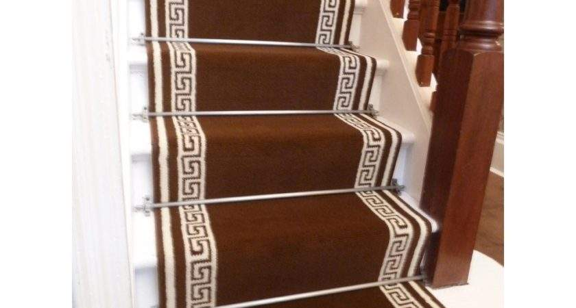 Brown Carpet Runner Stairs Interior Exterior Doors