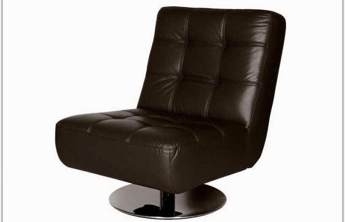 Brown Leather Swivel Chair Dfs Best Home