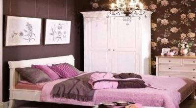 Brown Red Bedroom Decorate House