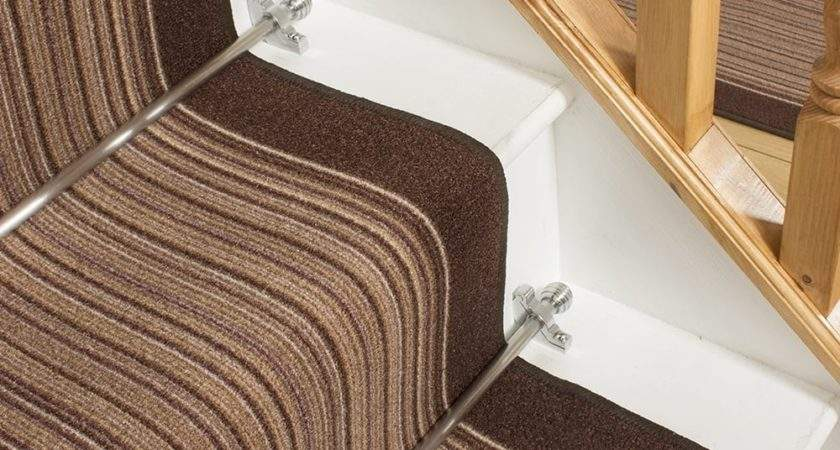 Brown Stair Carpet Runner Carnaby