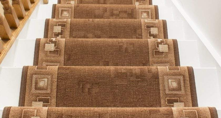 Brown Stair Carpet Runner Corona