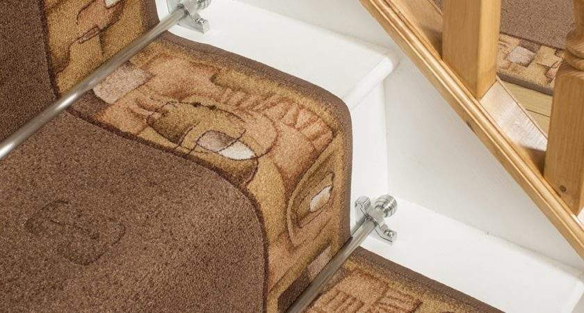 Brown Stair Carpet Runner Feria