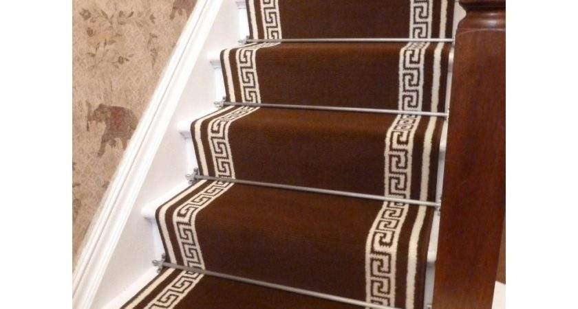 Brown Stair Carpet Runner Key Runners