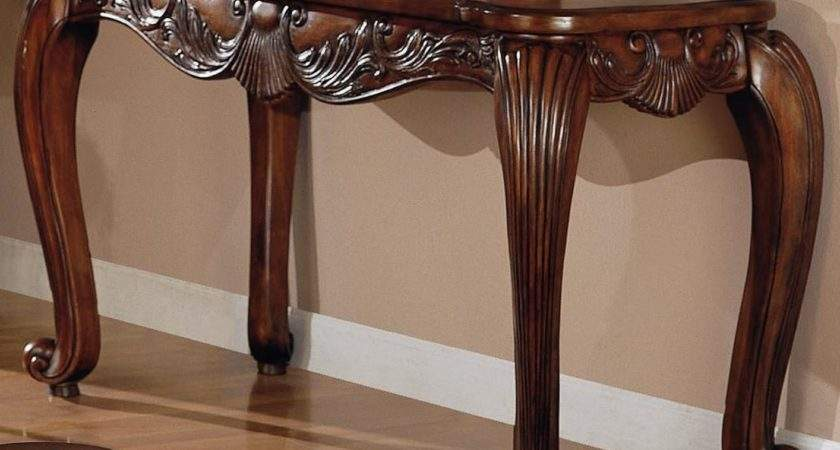 Brown Wood Console Table Steal Sofa Furniture Outlet