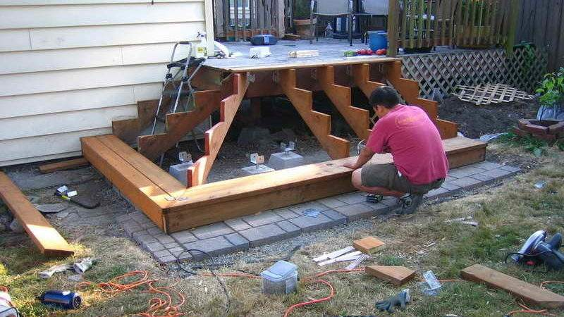 Build Deck Stairs Basic Rules Useful Ideas