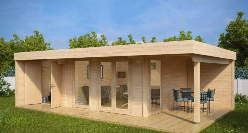 Build Your Own Garden Office Fast Inexpensively