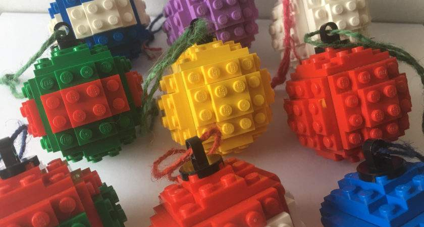 Build Your Own Lego Bauble Christmas Tree Handmaded