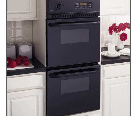 Built Double Electric Wall Oven Black Jrp Bjbb