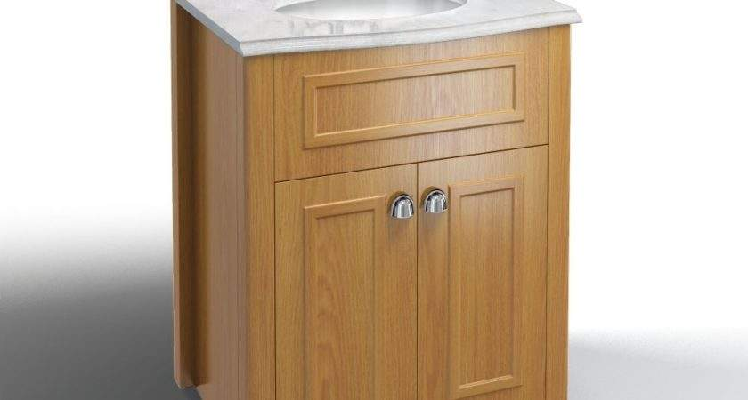 Burlington Bathrooms Vanity Unit Oak Bathroomand
