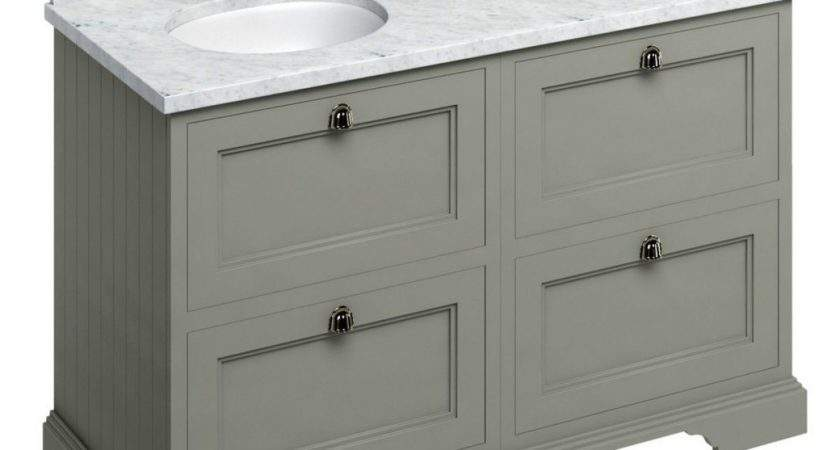 Burlington Double Vanity Unit Four Drawers