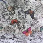 Butterfly Garden Osborne Little Original Foil