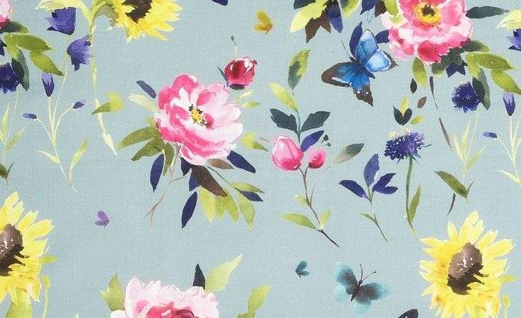 Buy Bluebellgray Butterfly Fabric Teal
