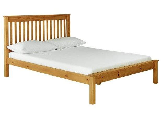 Buy Collection Aspley Small Double Bed Frame Oak Stain