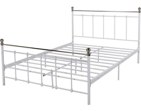 Buy Collection Eversholt Double Bed Frame White Argos