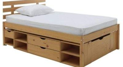 Buy Collection Ultimate Storage Small Double Bed Frame
