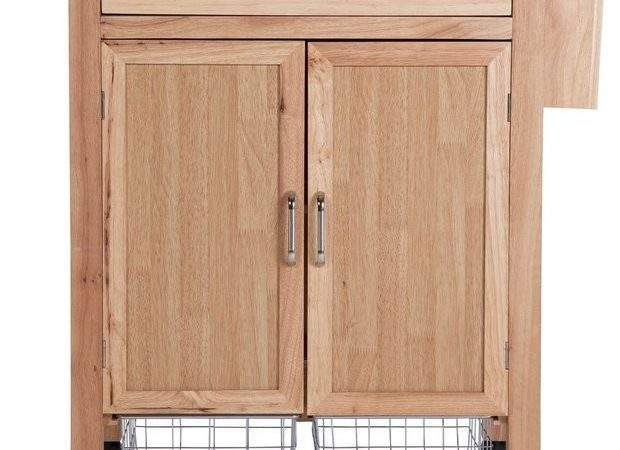 Buy Heart House Tollerton Wooden Kitchen Trolley