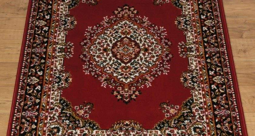 Buy Home Bukhura Traditional Rug Red
