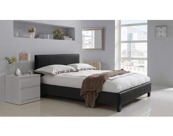 Buy Home Constance Small Double Bed Frame Black Argos