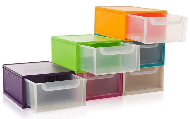 Buy Single Plastic Drawer Unit Shoe Storage