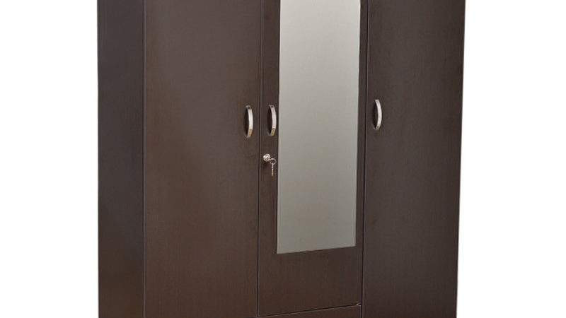Buy Utsav Three Door Wardrobe Mirror Hometown