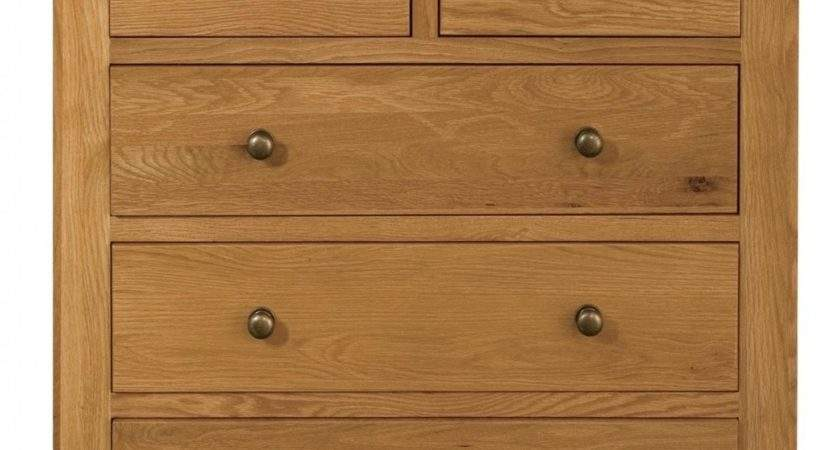Buy Vermont Oak Chest Drawers Over