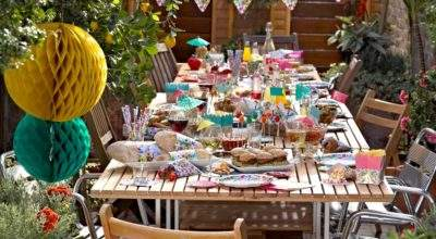Cake Junki Garden Party Decorations