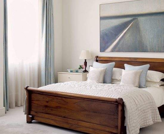 Calming Bedroom Relaxed Designs Bed