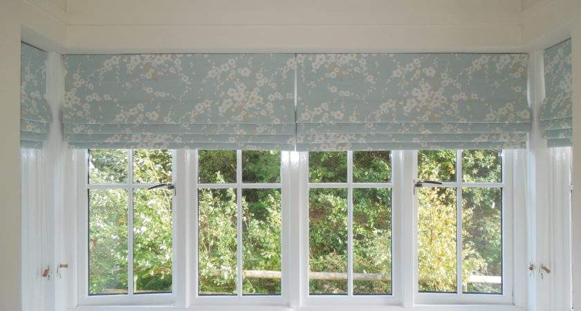 Cascading Roman Blinds Laura Ashley Fabric Matters