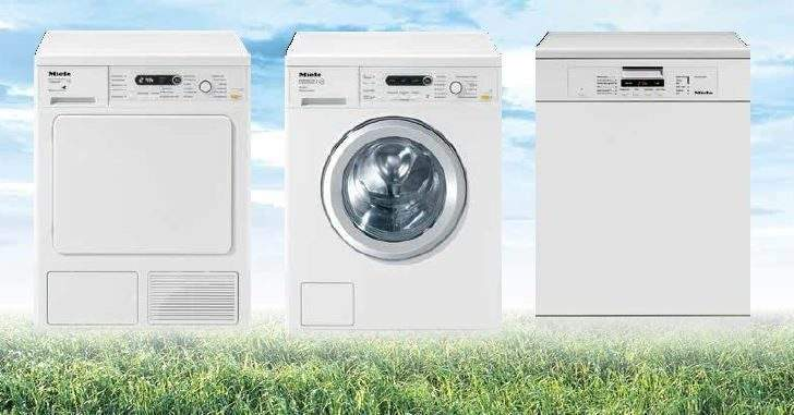 Cashback Selected Miele Washing Machines Dryers