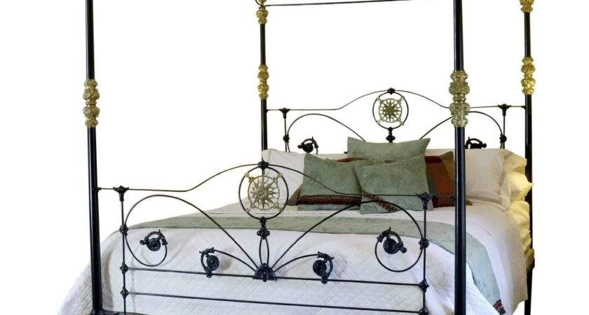 Cast Iron Four Poster Bed Sale Stdibs
