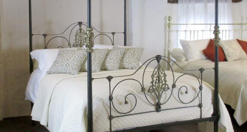 Cast Iron Four Poster Bed