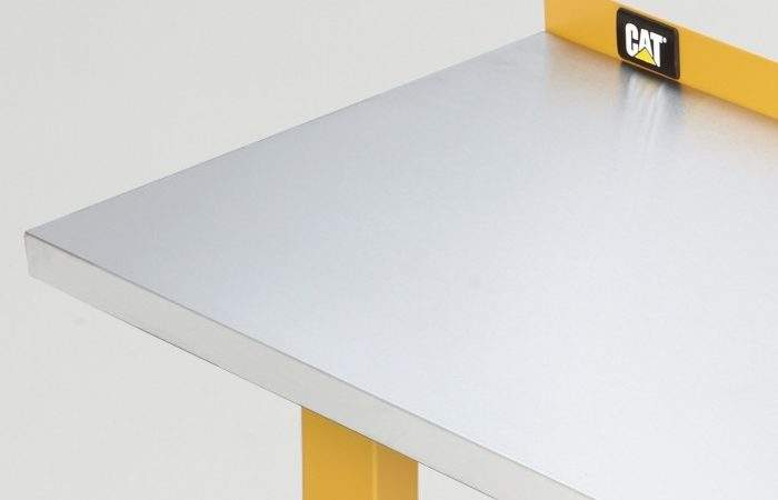 Cat Foot Wide Workbench Stainless Steel Work Surface
