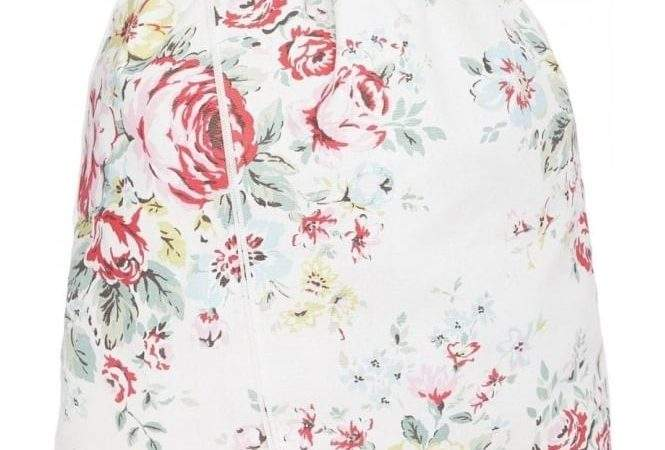 Cath Kidston Embroidered Hampstead Rose Laundry Bag