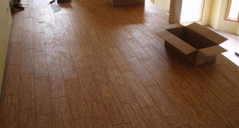 Ceramic Tile Floor Cork Flooring Ideas