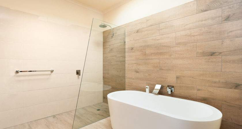 Ceramic Timber Tiles Bathroom Renovation Belmont