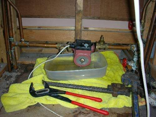 Change Central Heating Pump