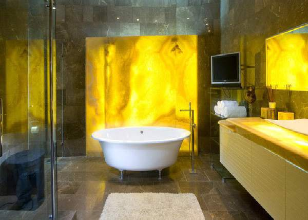 Charming Yellow Bathroom Design Ideas Home Lover