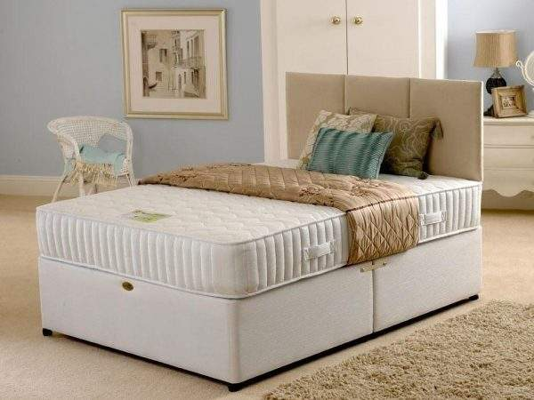 Cheap Deluxe Clima Smart Memory Foam Divan Bed Sale