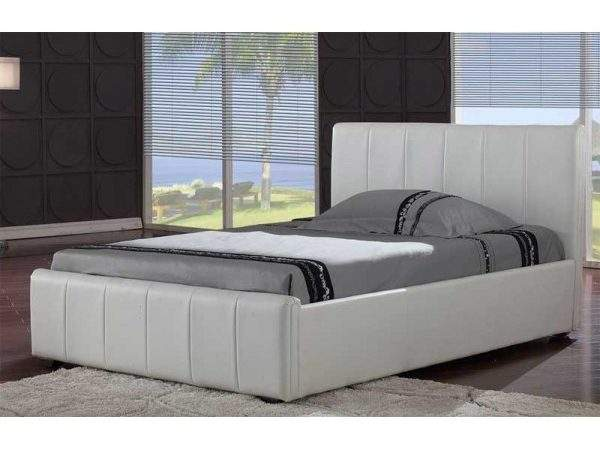 Cheap Harmony Pisa Faux Leather Bed Frame Sale