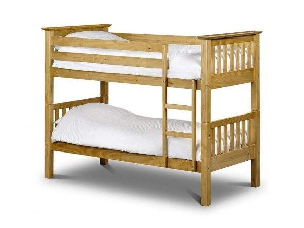 Cheap Julian Bowen Barcelona Antique Pine Bunk Bed