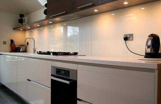 Cheap Kitchen Worktops Glass Splashbacks
