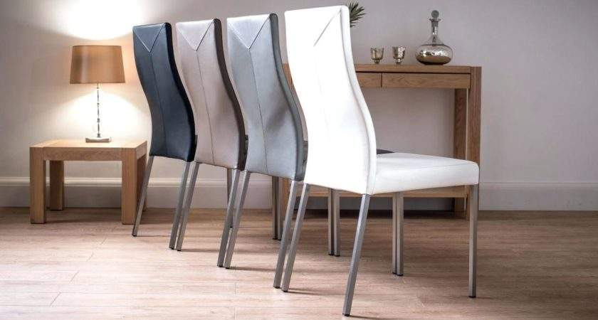 Chevron Dining Chairs Gray Leather Cheap Black Room Sets